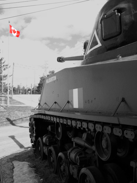 Canada has a peaceful reputation
