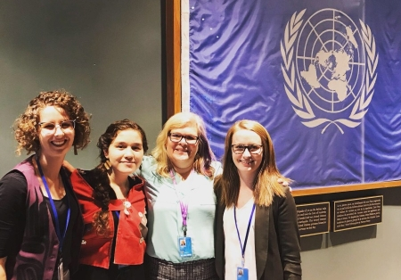 Haida youth Haana Edenshaw on her experience at the UN